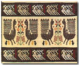 A carpet from Isili